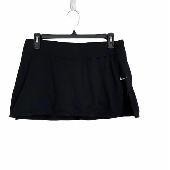 Nike Dri Fit Tennis Skirt Medium Black